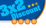 3x2 Discount